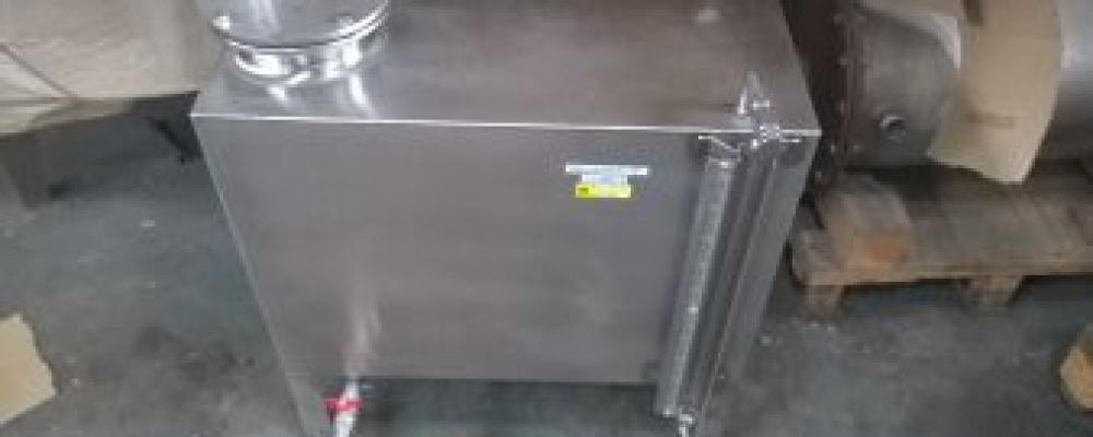 Nádoba na úkap a dokap 100 litrů, ověřená