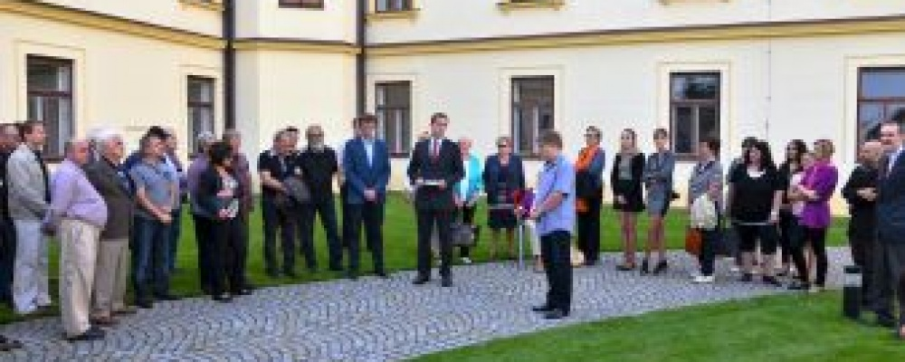 Vernisáž 140. výročí založení J. HRADECKÝ PACOV - zahájení