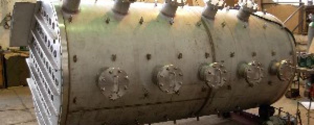 Tlaková nádoba - prodloužení rektifikační kolony Dobrovice