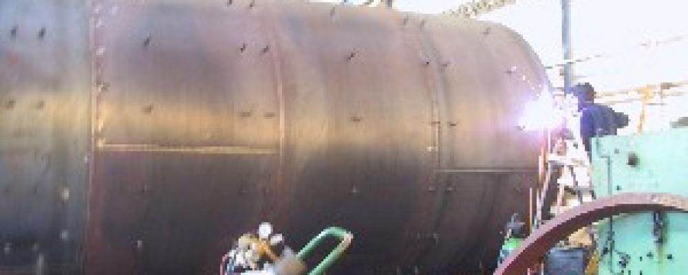 Zásobník na odpěňovadlo 40 m3 Dobrovice