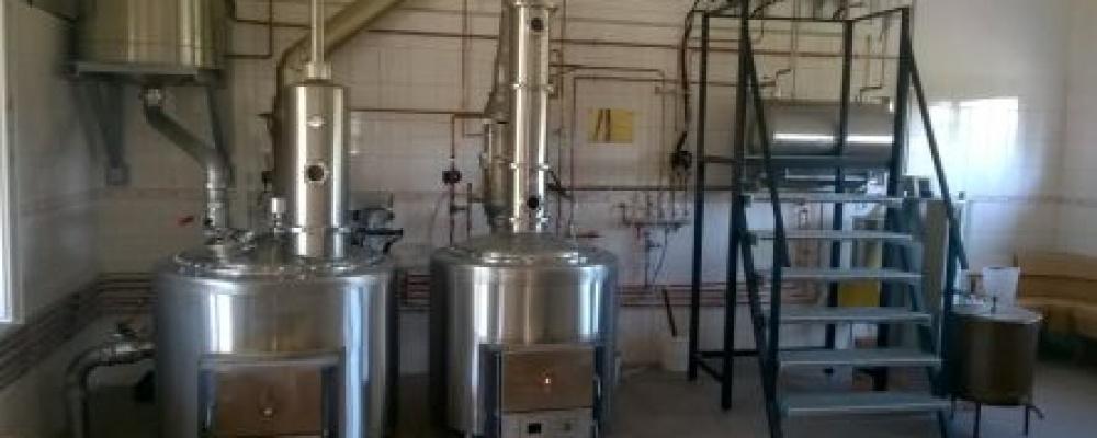 Dvoukotlová pálenice Prietrž 300/150 litrů, TP