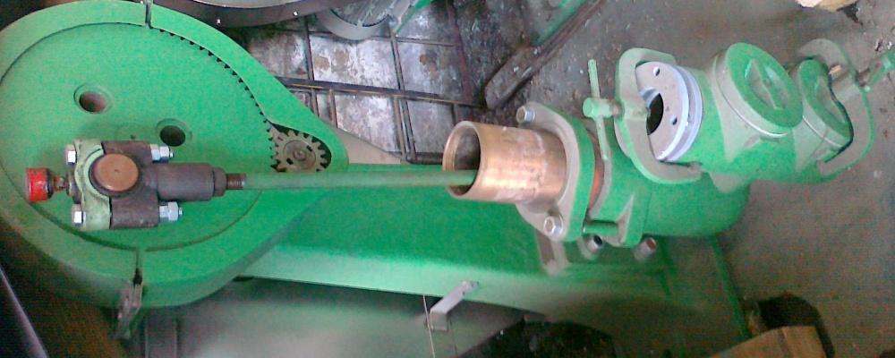 6). 2 ks použité-repasované Čerpadlo zápary/rmutu, přestavba na elektromotor, včetně elektromotoru.