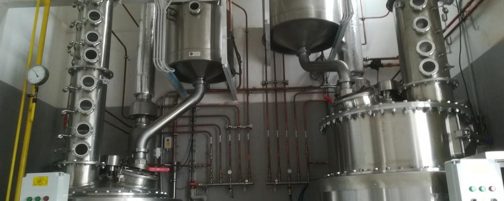 HOMBRES Distillery, Hostouň - kotle